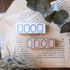 Kurukynki Rubber Stamps - Basic Frame XXS