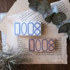 Kurukynki Rubber Stamps - Basic Frame S