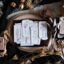Kurukynki Rubber Stamps - Classic Botanical