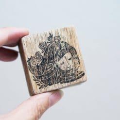 Black Milk Project Rubber Stamps - Breeze