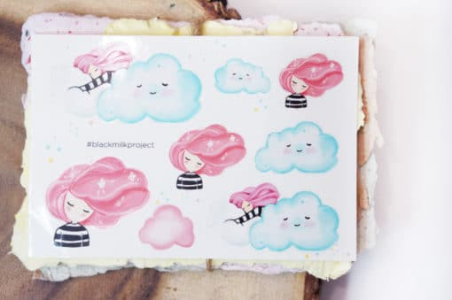Black Milk Project Stickers - Dream Cloud