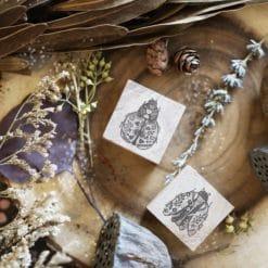 Black Milk Project Rubber Stamps - Floral Bug Set
