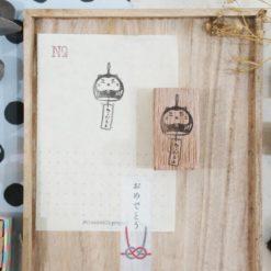 Black Milk Project Rubber Stamps - Neko Daruma
