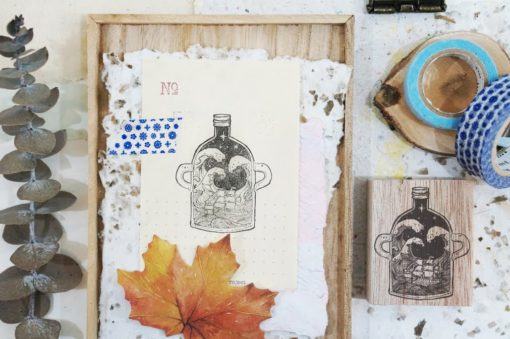 Black Milk Project Rubber Stamps - Jar of Voyage