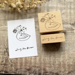 Kurukynki Rubber Stamps - Story Book: Along the River