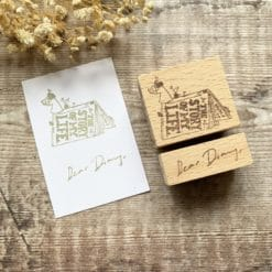 Kurukynki Rubber Stamps - Story Book: Dear Diary