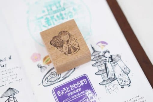 Black Milk Project Rubber Stamps - Miko