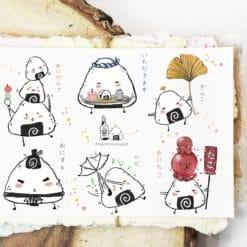 Black Milk Project Stickers - Onigiri