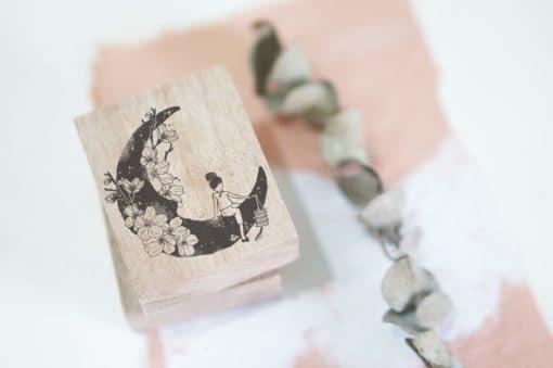 Black Milk Project Rubber Stamps - Moonchild