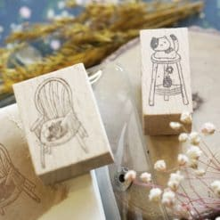 Kami Kami Chop Rubber Stamps - Neko Series
