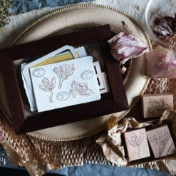 Kurukynki Rubber Stamps - Dried Orchids