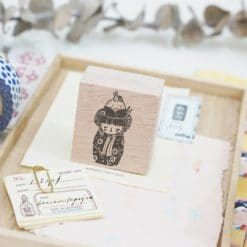 Black Milk Project Rubber Stamps - Onigiri Kokeshi
