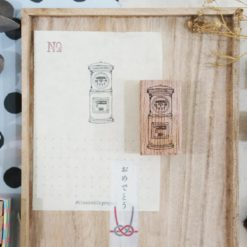Black Milk Project Rubber Stamps - Japan Post-box