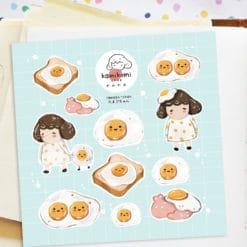 Kami Kami Chop Stickers - Tamago Sticker Sheet