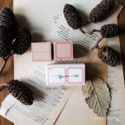 Kurukynki Rubber Stamps - Square Frame Set B