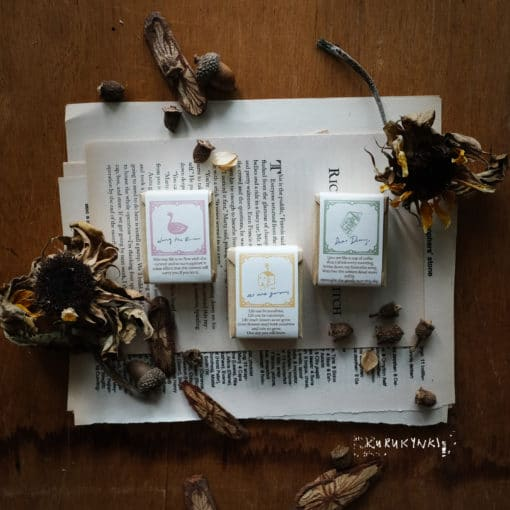 Kurukynki Rubber Stamps - Story Book series: Dear Diary