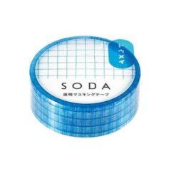 SODA Transparent Masking Tape - Grid