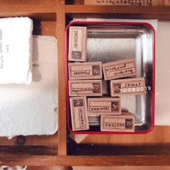 Kurukynki Rubber Stamps -Mini Daily Set