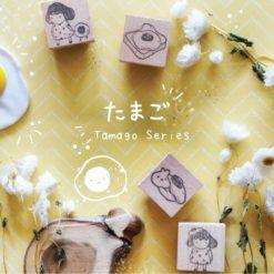 Kami Kami Chop Rubber Stamps - Tamago Series