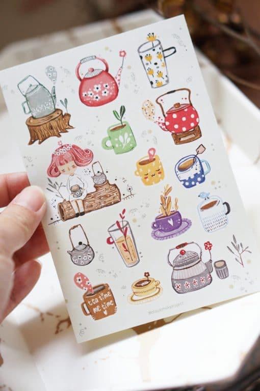 Black Milk Project Stickers - Tea Time