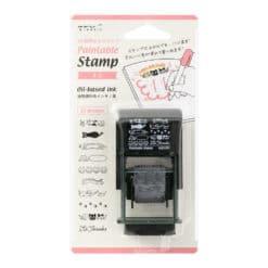 Midori Paintable Rotating Stamp Cat