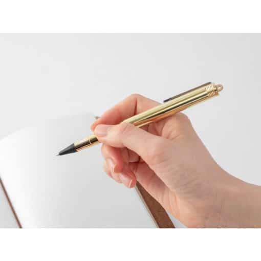 TRAVELER'S Company Brass Rollerball Pen