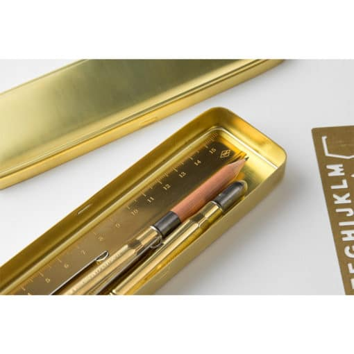 TRAVELER'S Company Brass Pen Case