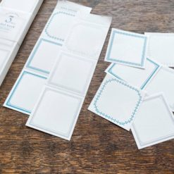 OEDA Letterpress 3 Patterns Label Book Summer Limited Edition - Gin & Asagi