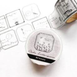 OEDA Letterpress Washi Tape - Frame