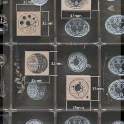 LCN Design Rubber Stamp Set - Postage Vol.4