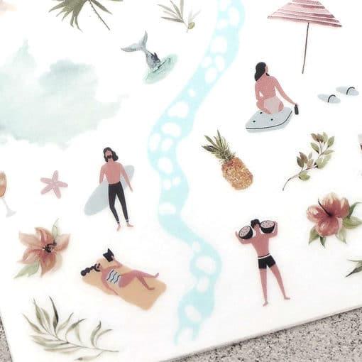 MU Print-On Stickers – Enjoy Every Moment