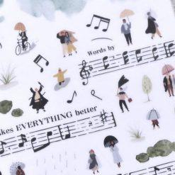 MU Print-On Stickers – Singing in the Rain