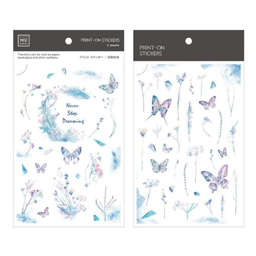 MU Print-On Stickers – Dreaming