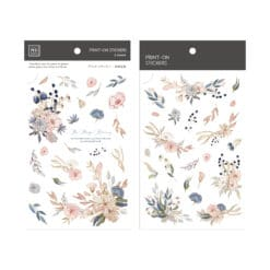 MU Print-On Stickers – Be Always Blooming