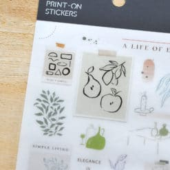 MU Print-On Stickers – A Life of Ease