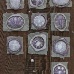 LCN Design Rubber Stamp Set - Stationery Vol. 1