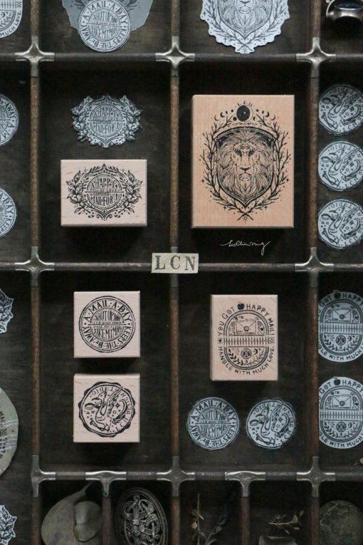 LCN Design Rubber Stamp Set - Postage Vol.5