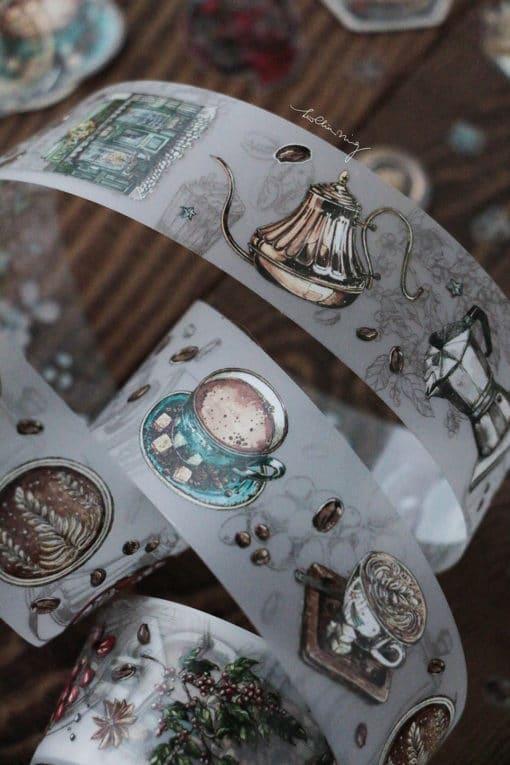 LCN Design Matte PET Tape - Coffee