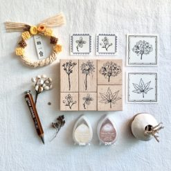 Liberty.hk Rubber Stamps - Everlasting (set of 6)