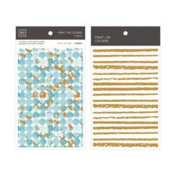 MU Print-On Stickers – Azure 1