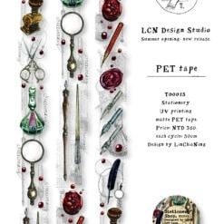 LCN Design Matte PET Tape - Stationery