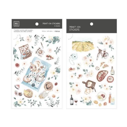 MU Print-On Stickers – Picnic