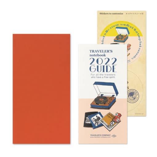 TRAVELER'S Notebook Refill 2022 Monthly