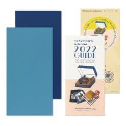 TRAVELER'S Notebook Refill 2022 Weekly + Memo