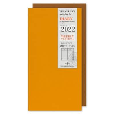 TRAVELER'S Notebook Refill 2022 Weekly Vertical