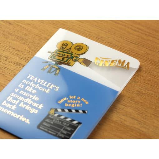TRAVELER'S Notebook Passport Size Clear Folder 2022