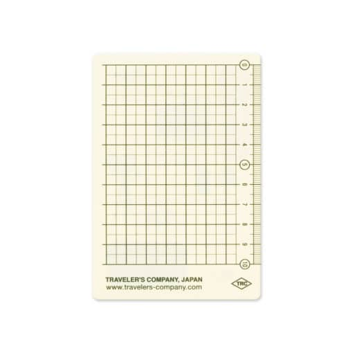 TRAVELER'S Notebook Passport Size Plastic Sheet 2022