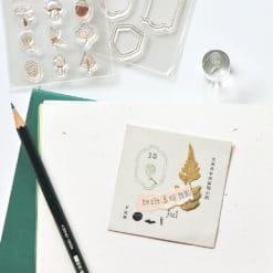 MU My Icon Clear Stamp Set No. 14