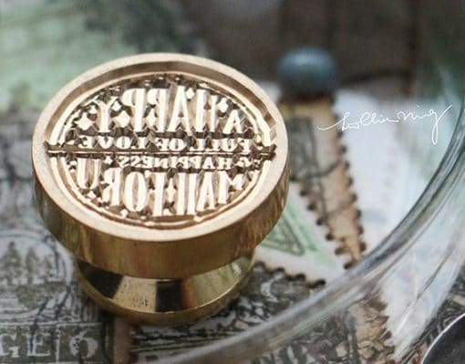 LCN Design Wax Seal - A Happy Mail for You.