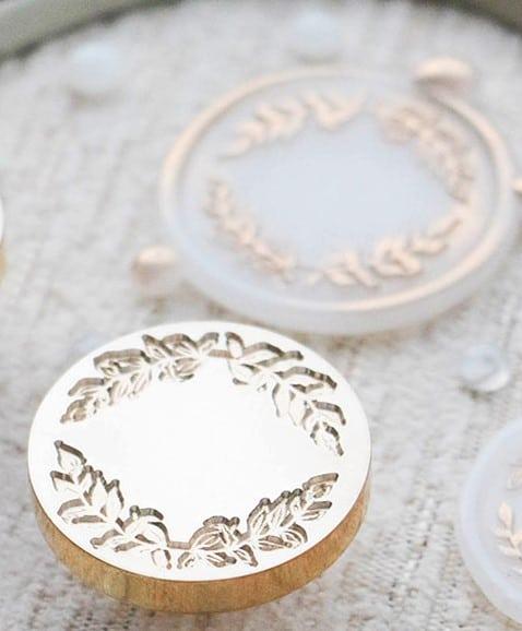 LCN Design Wax Seal - Frame: Leaf 1